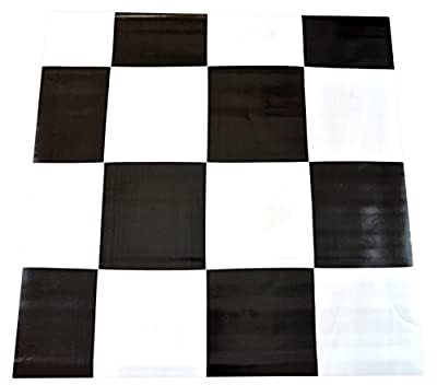 Dean Affordable Vinyl Flooring - Black & White Checkerboard - 6' x 82' $0.40/sf