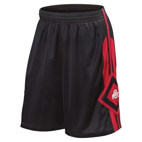 - Nike Ohio State Buckeyes Black In Your Face Basketball Shorts