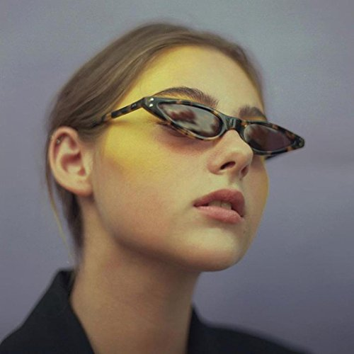 Bisagras De Para G Gato Plástico Mujer sol De De Marco Metal Sol Gusspower de Gafas Ojos retro De Pequeña Gafas nFxpgH