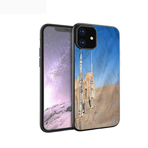 Cover Case for iPhone 11 Pro Max Case Luxury Soft Grind Arenaceous Black Phone caseGalaxy,Planet Earth Theme,for iPhone 11 Pro 2019,for iPhone11 Pro
