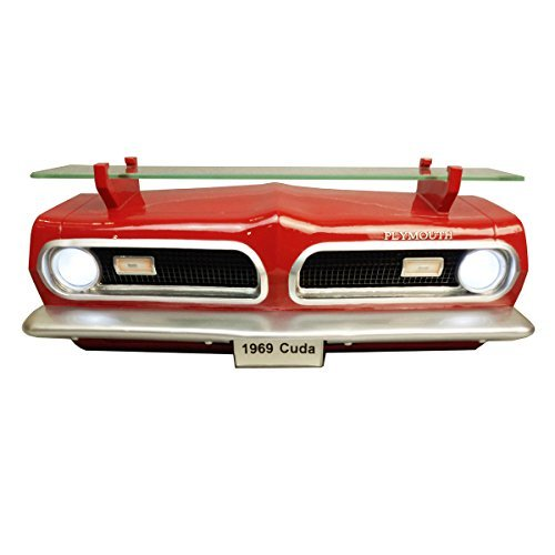 Wall Shelf, Decorative Wall Shelf for Automotive Car Enthusiasts, Car Shelves (1969 Plymouth Barracuda) 19