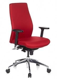 HJH Office SKAVE 200 - Silla de oficina, color rojo