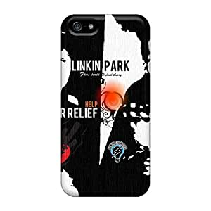 Iphone 5/5s UTM5940xZio Customized Stylish Linkin Park Pictures High Quality Hard Cell-phone Case -MansourMurray