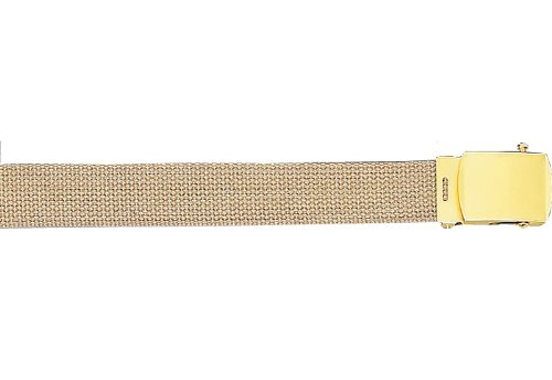 Amazon.com  Army Camouflage Solid Color Military Web Belt (Khaki ... 4d36513951f