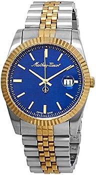 Mathey-Tissot Rolly III Blue Dial Men's Watch