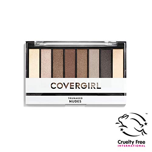 COVERGIRL truNAKED Eyeshadow Palette, Nudes 805, 0.23 ounce (Packaging May Vary) from COVERGIRL