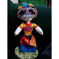 Catrina Mexicana Muñeca de Tela
