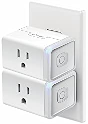 Kasa Smart Wi-fi Plug Mini By Tp-link (2-pack) - Control Your Devices From Anywhere, No Hub Required, Compact Design, Works With Alexa & Google Assistant (Hs105kit)