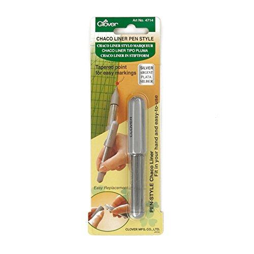 Clover Chaco Liner Pen Silver