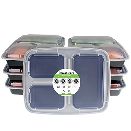 Freshware Compartment Bento Lunch Boxes product image