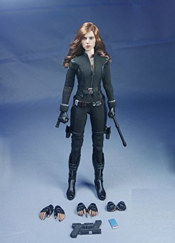 1/6 Figure Clothing Scarlett Johansson Black Widow Costume Suits -