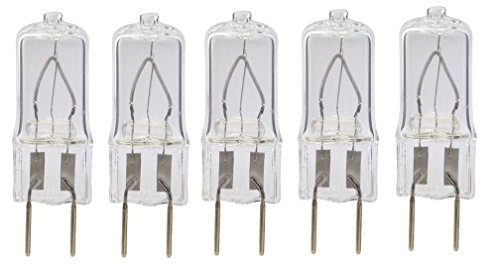 G8 Halogen Bulbs (5pack - LSE Lighting G8 25W Halogen Bulb JCD Bi-Pin Light 25 watt 120)