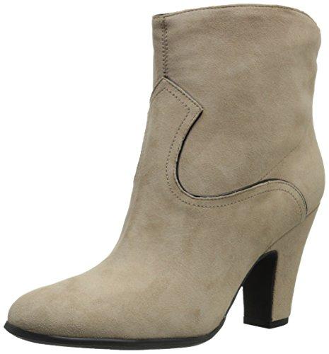 Nine West Women's Quarrel Suede Boot Light Natural/Black