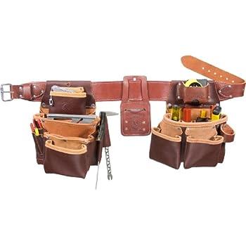 XL Occidental Leather 8385XL Black Belt Stronghold Rough Framer Tool Bag Set