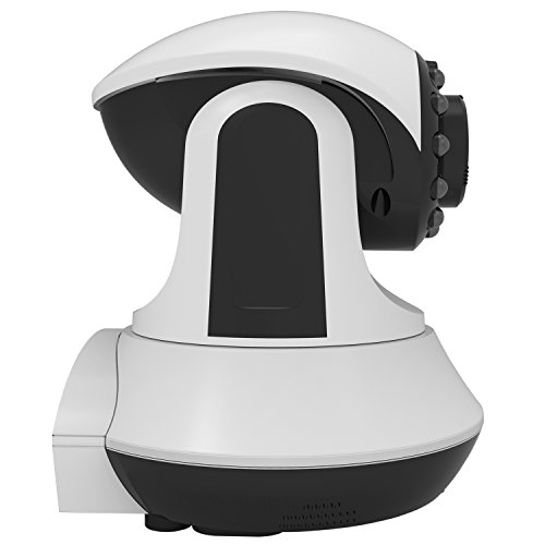 029054011923 - First Alert DWIP-720 HD Internet Protocol Wi-Fi Indoor Security Camera (White/Black) carousel main 5