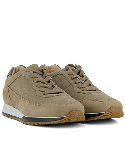 Hogan Men's HXM3210K860IHH4JQ1 Beige Suede Sneakers clearance 2014 new cheap sale very cheap for sale for sale pictures for sale 2zQXNR