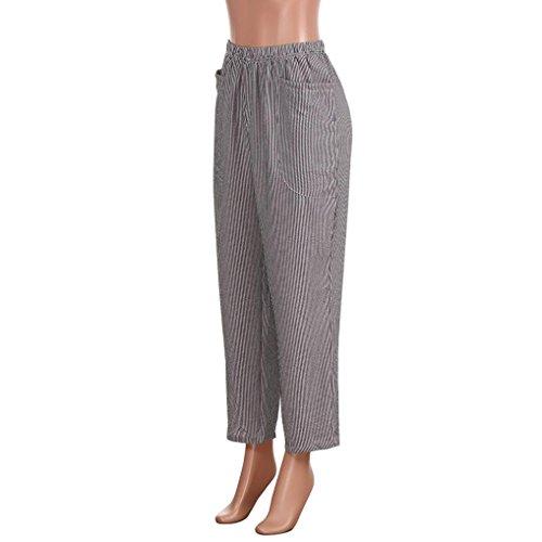 Mode Automne Ray Harem La Pantalon Printemps Taille Poche Femmes Noir zahuihuiM Pantalon Casual Plus xnwqS4E