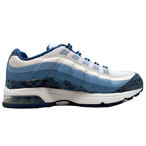 Nike Womens Air Max 95 Zen Bianco / Blu-blu Frost-ice Blue 313866-141 Scarpa 8 M Us