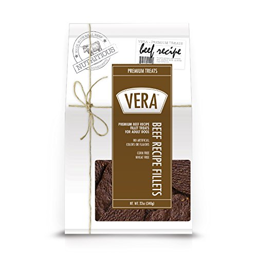 Vera Premium Beef Recipe Fillets For Dogs  22Oz