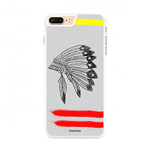 Coque + Verre Trempé pour iPhone 7 Plus SmartCase® RED INDIAN
