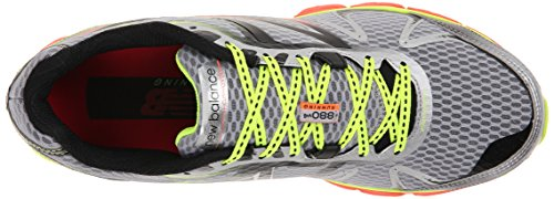 material para hombre sintético New running D Zapatillas M880 V4 de Gris de Balance nv1ZU