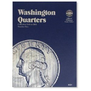 Whitman Washington Quarter #2 Folder (1948-1964) #9031 by Great Southern Coins