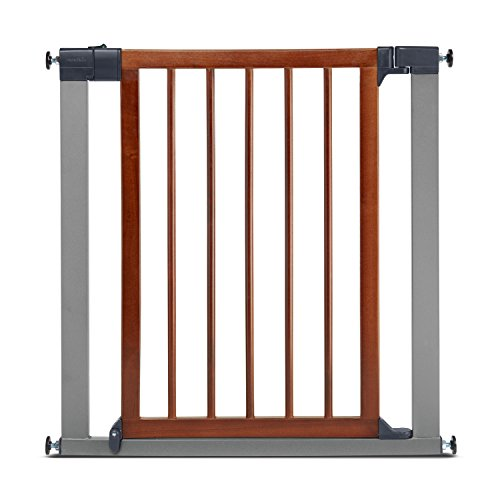 Munchkin Wood Amp Steel Pressure Mount Baby Gate For Stairs