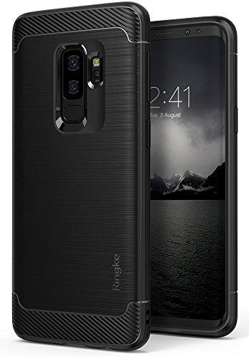 Galaxy S9 Plus Case, Ringke [Onyx] Brushed Metal...