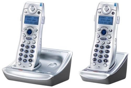 Ge Dual Telephone (Thomson GE 28111EE2 DECT 6.0 Dual Handset Expandable System with Caller)