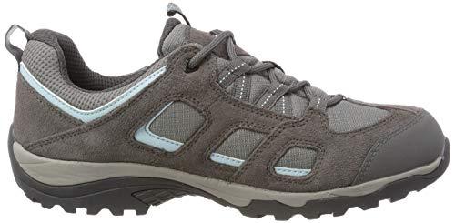 Wasserdicht Donna Hike asfalto Jack 2 grigie Vojo Low Texapore 6011 Scarpe Wolfskin grigio da trekking x00qXwUE