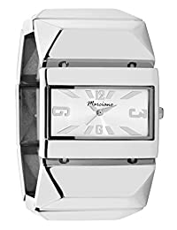 Women's Watches by Marciano - Silver Stretch Bangle Watch - Make Every Second Count - FH0006
