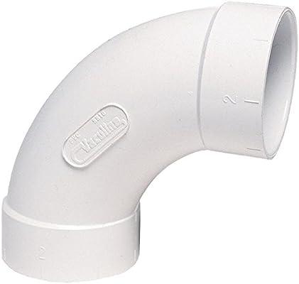 Central Vacuum PVC 2 Inch Elbow 45 Degree BIR-9013