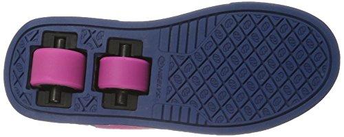 Heelys X2 Fresh Scarpe con 2 rotelle, Bambina, Rosa (Fuchsia/Navy), 38 EU