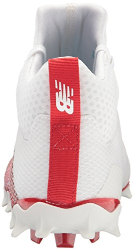 Cleat White Red Men's New Freeze Lacrosse v1 Balance YxBaqqRnHX