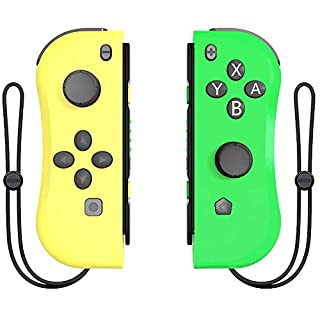 Joy Con Controller Replacement Campatiable for Nintendo Switch - Left and Right Controllers Compatible for Nintendo Switch Console, Wired/Wireless L/R Switch Remotes