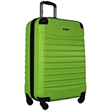 Ciao Voyager Hardside Luggage Spinner Wheeled 24-inch Suitcase (Lime)