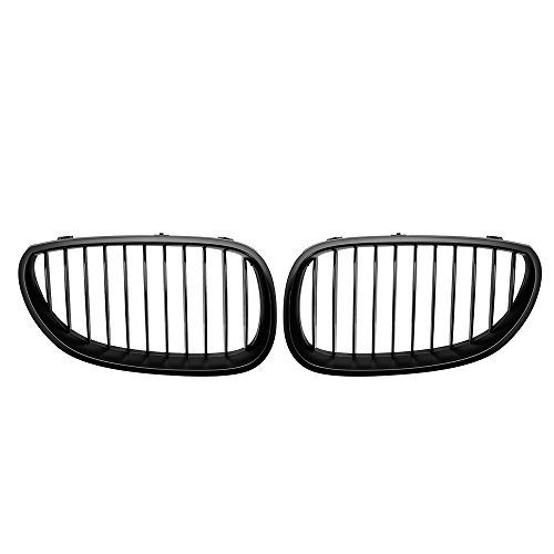 Left & Right Kidney Grilles for E60 E61 5 Series 2003 2004 2005 2006 2007 2008 2009 2010
