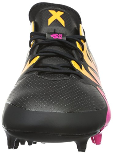 FG 15 Black Shock Gold Solar AG Schwarz adidas Core 1 Homme X Chaussures Pink Compétition de Football Mehrfarbig 5Owxftqx1