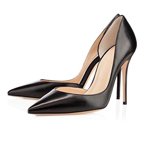 Femme Escarpins Escarpins Fermé Soireelady Soiree Chaussures Femme Classique Bout Noir Mariage Beige Sfx6RF