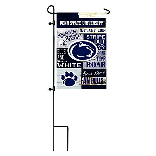 Team Sports America Pennsylvania State University, Linen Fan Rules Garden Flag