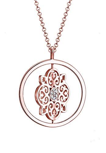 Elli PREMIUM Colliers Plaqué or Cristal Swarovski 0106461716_80