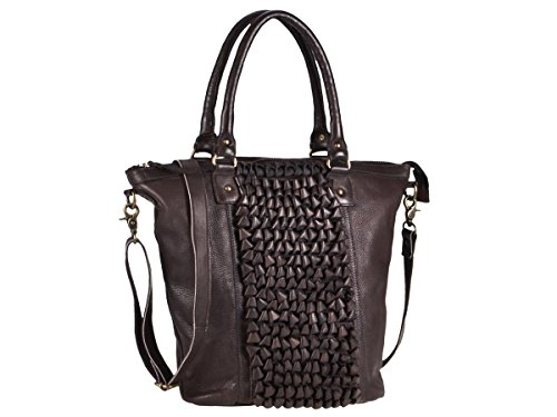 Loop Bolso Centimetri 33 Demi Shopper Greenburry Borse Cioccolato Piel r6xqr5