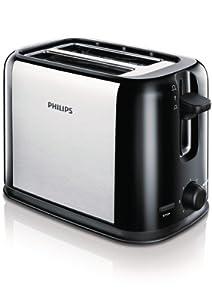 Philips HD2586/20 Toaster (950 Watt, 7 Bräunungsstufen, Stopp-Taste)...