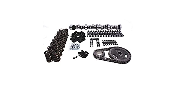 Lunati 40350734K Voodoo 255//263 Solid Roller Complete Cam Kit for 351W and 302 H.O.