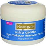 Neutrogena Extra Gentle Eye Makeup Remover Pads 30 ea (Pack of 12)