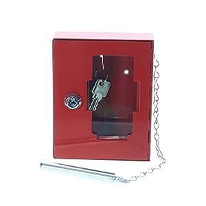 Rottner 1334 NSK1 - Caja para llave de emergencia (incluye martillo sujeto con cadena)