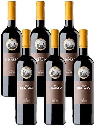 Vino Tinto Ribera Duero Finca Resalso 6x75cl (Caja 6 Botellas): Amazon.es: Alimentación y bebidas