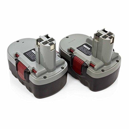 2 x ExpertPower 18v 3000mAh NiMh Battery for Bosch BAT025 BA
