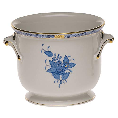 (Herend Chinese Bouquet Blue Porcelain)