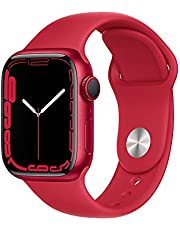 Apple Watch Series7 (GPS, 41mm) - (PRODUCT) RED Aluminium Case with (PRODUCT) RED Sport Band - Regular